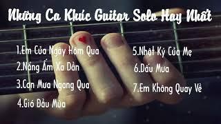 Các bài nhạc trẻ hot được phổ trên nền guitar