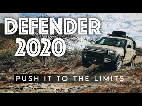 NEW DEFENDER 2020 - The Land Rover expedition in Namibia