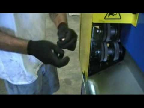 rigby wire stripping machine
