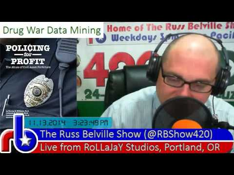 @RBShow420 #489 Drug War Data Mining - Policing for Profit Asset Forfeiture
