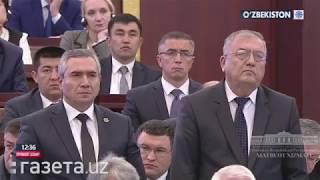 Шавкат Мирзиёев обвинил экс-главу МВД Адхама Ахмедбаева в предательстве