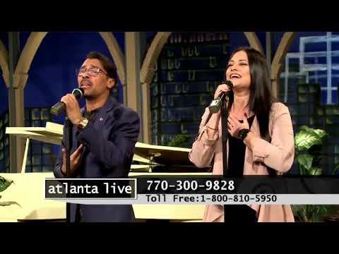 Ismael Ramos - Reign In Me Featuring Camila de Souza - Live at Atlanta Live WATC TV 57