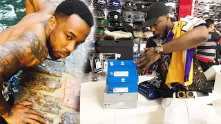 $1,000 SPENDING SPREE Sneaker/Clothing Vlog Ep.44! |