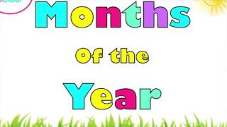 Months of the year (English Flashcards)