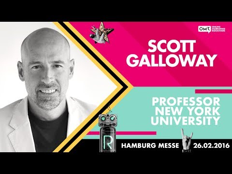 Prof. Scott Galloway, NYU Stern School of Business - Online Marketing Rockstars Keynote | OMR16