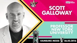Prof. Scott Galloway, NYU Stern School of Business | OMR Festival 2016 - Hamburg, Germany | #OMR16