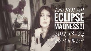 Astrology/Tarot Aug 18-24. LEO SOLAR ECLIPSE MADNESS!!!