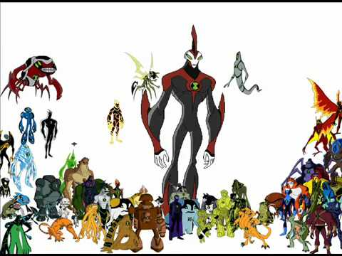 Ben 10 Ultimate alien theme with all the aliens - YouTube ...