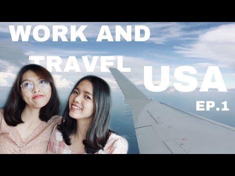 Work and Travel in USA ep1 ประสบการณ์ทำงานต่างแดน | TipKaa