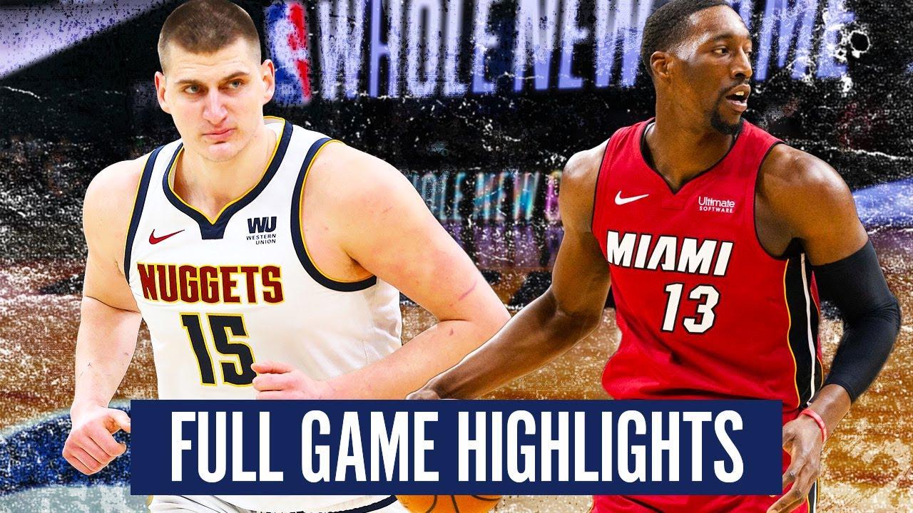 Download DENVER NUGGETS vs MIAMI HEAT - FULL GAME HIGHLIGHTS   2019-20 NBA Season