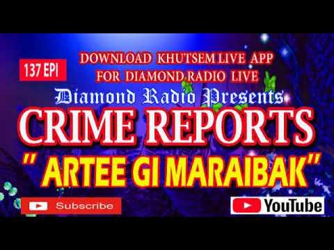 CRIME REPORTS 137 EPI DIAMOND RADIO