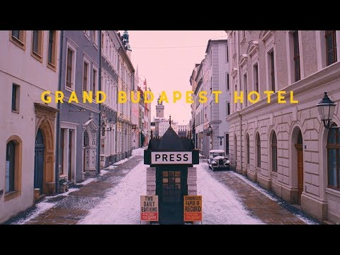 The Grand Budapest Hotel \\ Wes Anderson Colour box