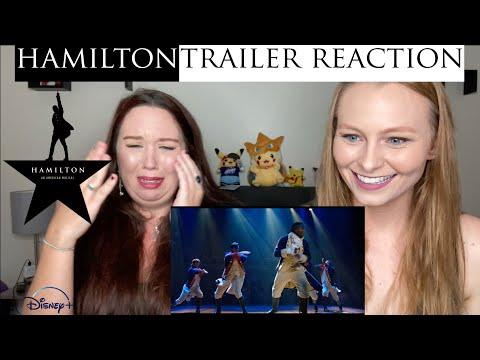 Hamilton Official Trailer REACTION Disney+ #Hamilfilm