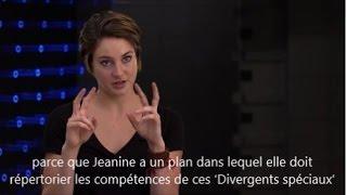 Shailene Woodley Interview :  Insurgent The Divergent Series VOSTFR