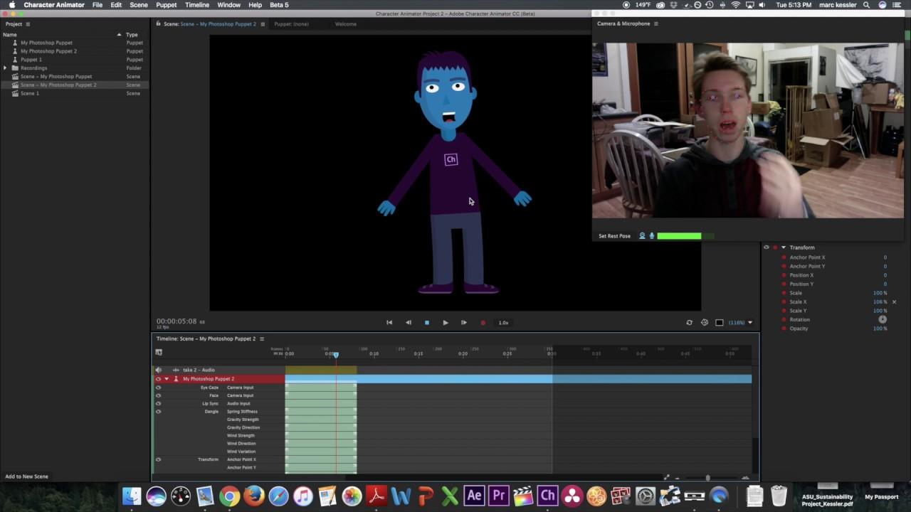 webcam mocap software
