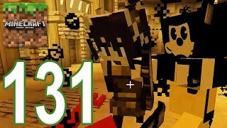 Minecraft: PE - Gameplay Walkthrough Part 131 - Bendy Game Horror 4 Final (iOS, Android)