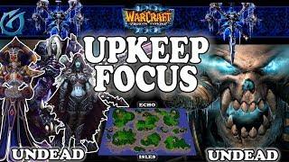 Grubby | Warcraft 3 TFT | 1.30 | UD v UD on Echo Isles - Upkeep Focus