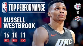 Mr. Triple Double Strikes Again vs The Clippers!