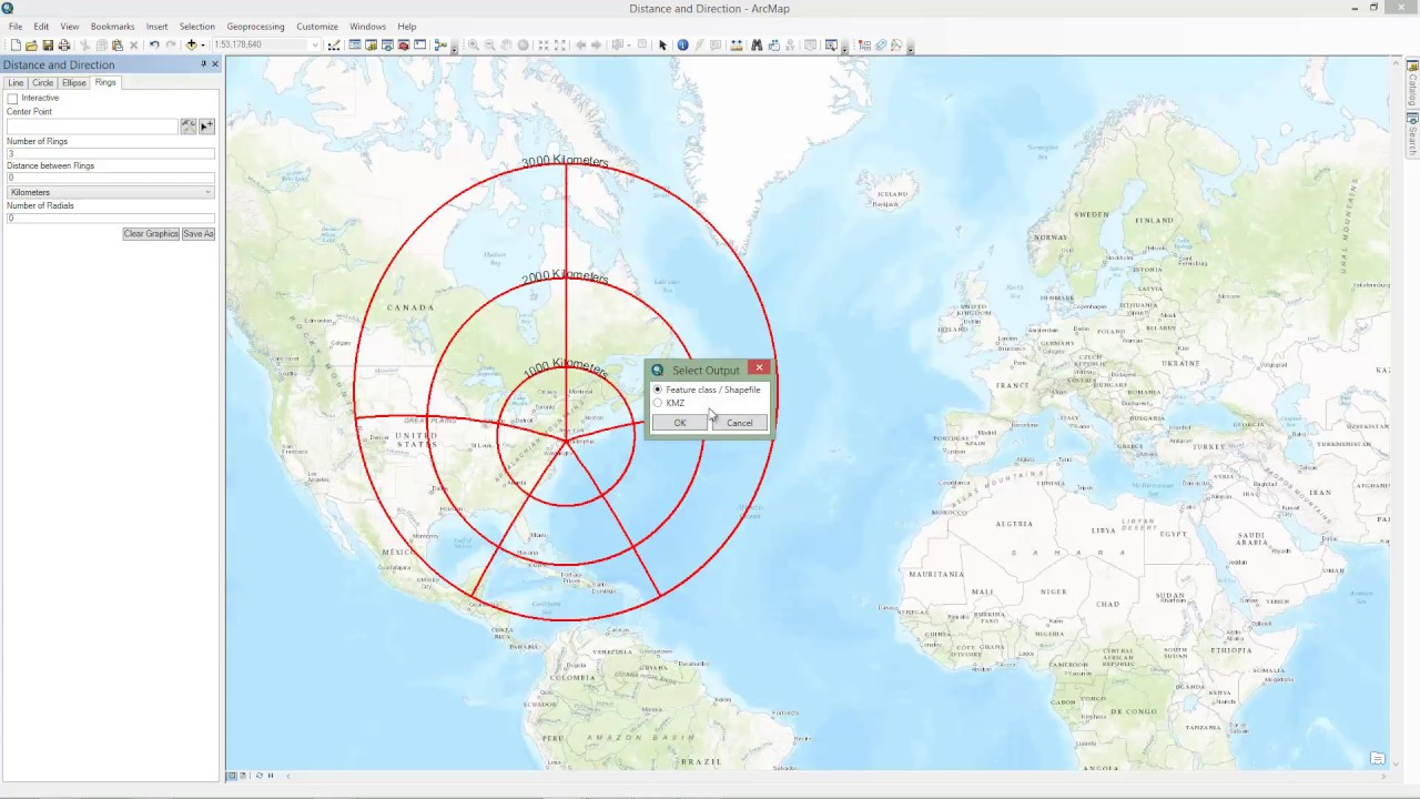 Military Tools For ArcGIS In ArcMap Using Distance And Direction - Map route distance tool