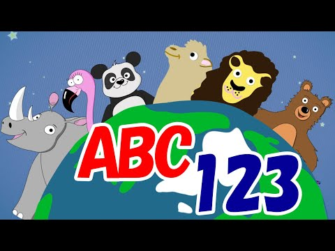 learn-animals-with-animals! abcs-&-123s-for-kids home-learning early-education toddler-fun-learning