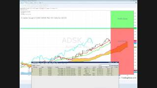 Options 101: How I Made Almost $6,000 in $ADSK Trading Options 1.24.2014