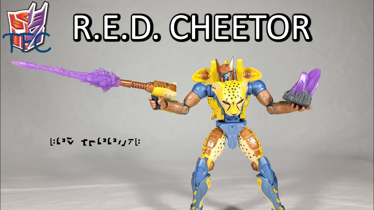 TF Collector Transformers R.E.D. Cheetor Review!
