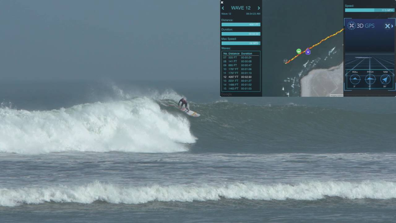 f7c1b3767 Kai Bates rides a mile long wave on a SUP in Peru! - YouTube
