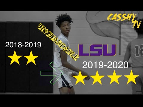LSU Bound Eric Gaines is UNGUARDABLE Full Season Mix & Highlights 😱‼️