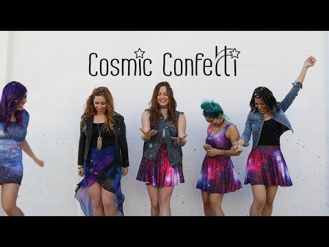 COSMIC CONFETTI: Behind the Scenes!