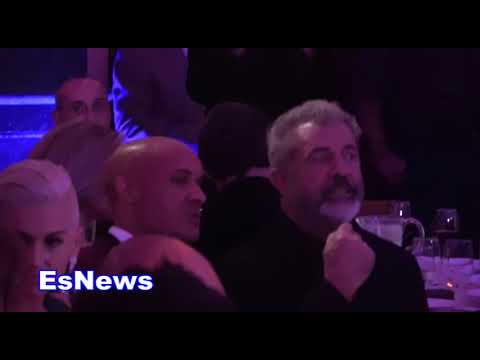 Mel Gibson Watching Action Packed MMA Fight At SmasH Event EsNews Boxing