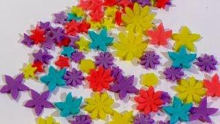 Цветы из мастики Украшения для торта из мастики Цветы, бабочки и звёздочки из мастики(Цветы из мастики. Как сделать цветы из сахарной мастики .Украшение для тортов. Делаем бабочки из мастики...., 2016-09-17T08:33:34.000Z)