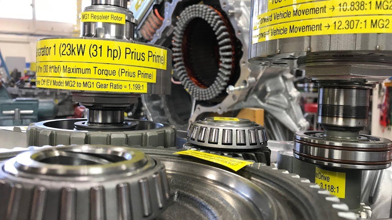 4th Gen Prius, Prius Prime Transaxle - P610 Quick Look ...