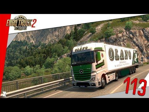 🚚 Euro Truck Simulator 2 | L'Hebdo du Routier #113 Transports OLANO !