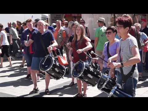 DrumStorm - Flashmob in Detmold