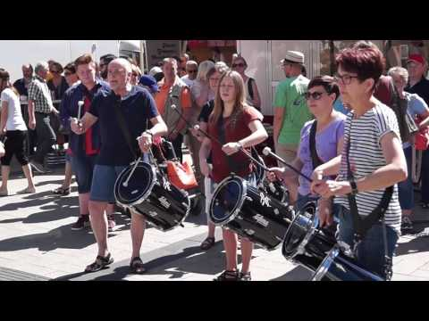 DrumStorm - Flashmob in Detmold