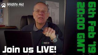 Wildlife Aid Q&A LIVE!
