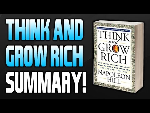 Think And Grow Rich Summary FULL l Think And Grow Rich By Napoleon Hill