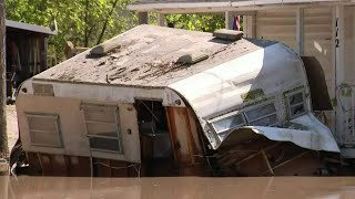 Town of Sanford devastated by flooding