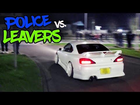 Tuner Cars Leaving A Car Meet - Reading Japanese Meet [March 2020]