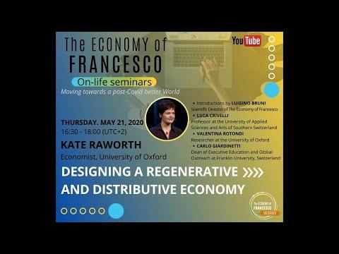 On-Life Seminar: Designing a regenerative and distributive economy