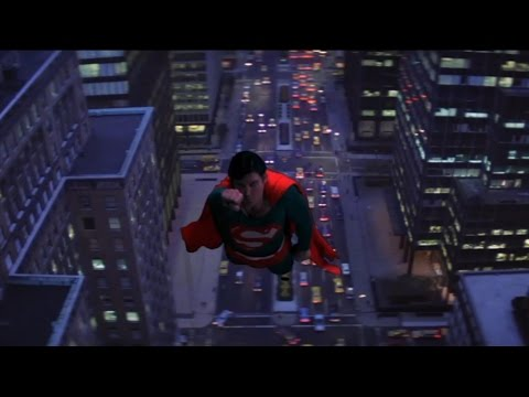 Superman 2 - Superman sent a rocket into space