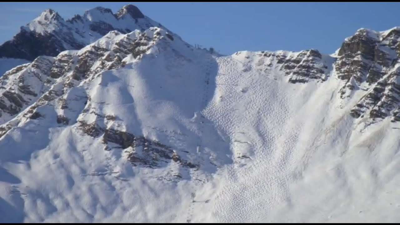 Skiing the Swiss Wall Avoriaz YouTube