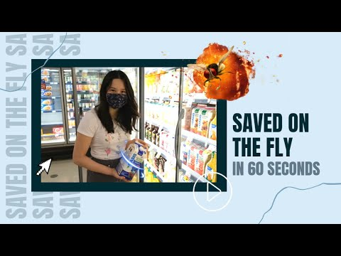 """""""Saved On Fly"""" in 60 seconds"""