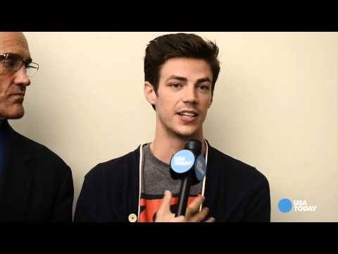 John W. Shipp and Grant Gustin Talks about 'The Flash' to USA Today