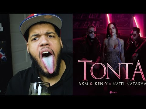 Rkm & Ken-Y ❌ Natti Natasha - Tonta [Official Video] - Tonta Video Oficial Reaccion