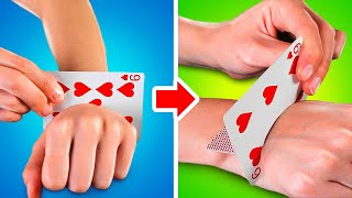 MAGIC TRICKS For Begiฑners    5-Minute Ideas to Have Fun With Friends!