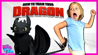 How To Train Your DRAGON in REAL LIFE! Magical Search For SECRET Hidden Treasure with Kin Tin