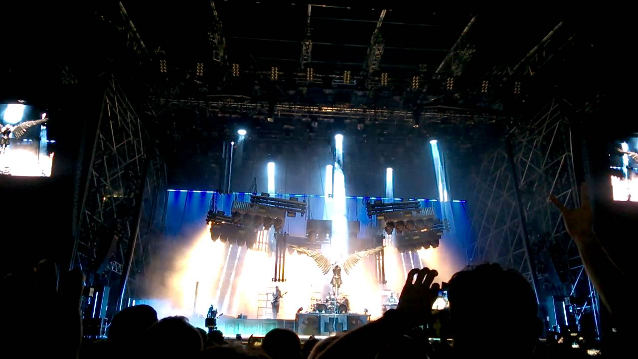 Rammstein Live At Gods Of Metal 02062016 Engel
