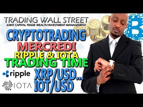 #Ripple #IOTA #Stellar Lumens #Trading (Mercredi 14 Févrirer 2018) #Cryptotrading