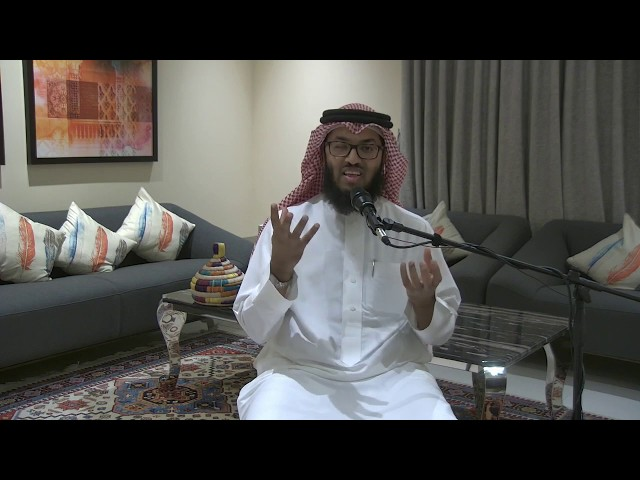 حبسهم العذر | الشيخ خالد الشنو | جلسة مع الصحابة